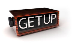 Get Up Stock Photography
