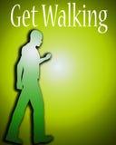 Get Walking 2 Royalty Free Stock Image
