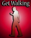 Get Walking 5 Royalty Free Stock Photo