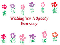 Get Well Card Illustration Stock Images
