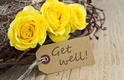 Get well Royalty Free Stock Photography