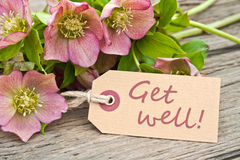 Get well Stock Image