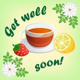 Get well soon! Royalty Free Stock Images