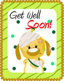 Get well soon greeting Stock Photo
