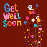 Get well soon Royalty Free Stock Image