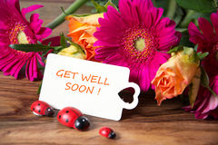 Get well soon Royalty Free Stock Photos