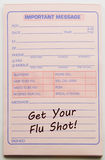 Get your Flu Shot Important Message Royalty Free Stock Images