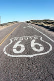 Get your kicks on Route 66. Road side shot of route 66 Stock Images