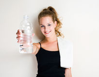 Get your water. Stock Photography