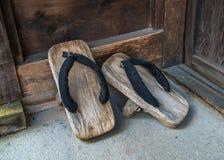 Geta, calzado japonés tradicional Fotografía de archivo