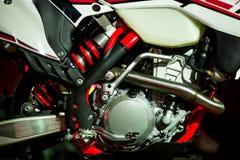 Getankte Maschine des Motorrades Benzin Lizenzfreie Stockfotografie