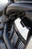 Getankte Maschine des Motorrades Benzin Lizenzfreie Stockbilder