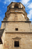 Getaria church bell tower Royalty Free Stock Photography