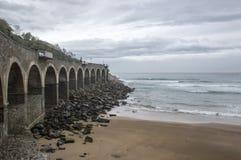 Getaria plaża Zdjęcia Royalty Free