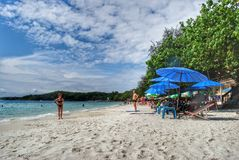 Getaway on Island. Koh Samet Island in Thailand Stock Photos