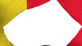 Geteilte Moroni-Flagge stock abbildung