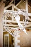Getelegrafeerd hart Stock Foto's