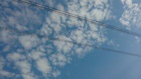 Getelegrafeerde sky2 Stock Afbeeldingen