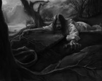 Gethemane's Agony stock illustration