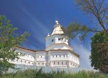 Gethsemane塔 2007第23个耶路撒冷6月修道院新的俄国 免版税库存照片