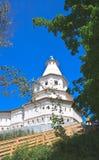 Gethsemane塔 2007第23个耶路撒冷6月修道院新的俄国 Istra,莫斯科地区,俄罗斯 图库摄影