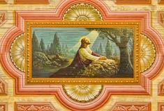 Gethsemane庭院  免版税图库摄影