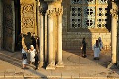 Gethsemane所有国家缩样和教会  免版税库存图片