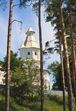 Gethsemane  tower. New Jerusalem monastery Stock Photography