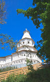 Gethsemane tower. New Jerusalem Monastery. Istra, Moscow region, Russia Stock Photography