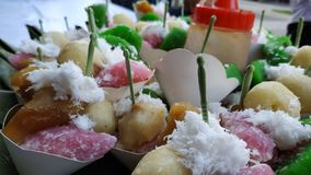 Gethuk Tradycyjny jedzenie Od Indonezja obraz stock