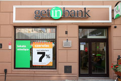 Getin Bank Stock Photography