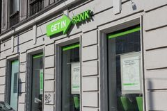 Getin Bank, Poland Stock Photos