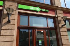 Getin Bank stock image