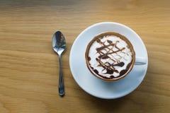 Getränk, Kaffee, Hintergrund Lizenzfreies Stockbild
