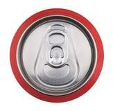 Getränk kann oben schließen Stockbild