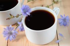 Getränk mit Zichorienwurzeln Lizenzfreies Stockfoto