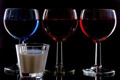 Getränke lizenzfreies stockfoto