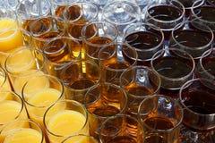 Getränkehintergrund lizenzfreies stockfoto