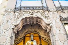 Getränkespender-und Schokoladen-Shop Hollywood-Boulevard Ghirardelli, Los Angeles, Kalifornien stockfotografie