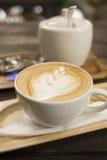 Getränkkaffee Latte Lizenzfreies Stockbild