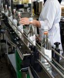 Getränkproduktion stockfoto