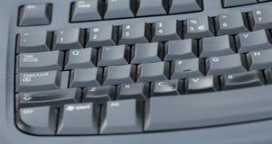 Getragener heraus Tastaturblock eines Tischrechners Stockfoto