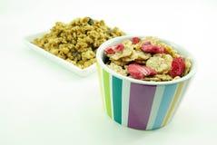 Getreide blättert zum Frühstück ab Lizenzfreie Stockbilder