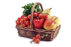 Getreide des Gemüses und der Frucht stockfotografie