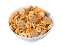 Getreide in einer Schüssel Lizenzfreies Stockfoto