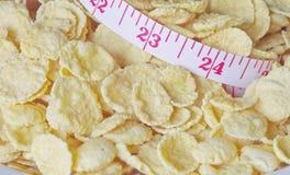 Getreide für Gewichtskontrolle Lizenzfreie Stockbilder