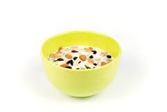 Getreide-Frühstück Lizenzfreies Stockfoto