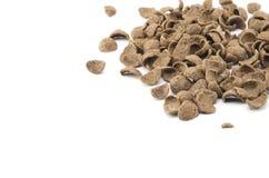 Getreide lokalisiert auf Weiß Stockfotografie