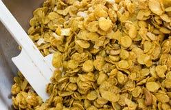 Getreide mit Rosine und Nuss Stockfoto
