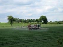 Getreide-Sprühen Stockbild